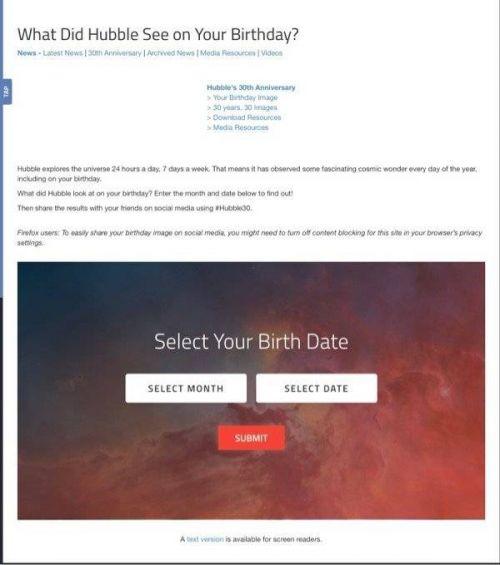 你生日那天的宇宙怎么查 你生日那天的宇宙查询入口官网地址