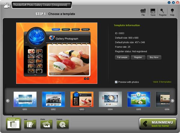 ThunderSoft Photo Gallery Creator(影集制作亚洲制服丝袜自拍中文字幕)