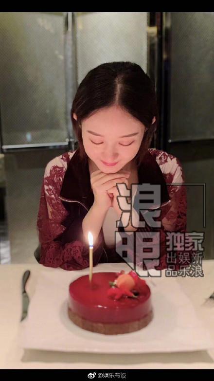 赵丽颖朋友圈公开冯绍峰 冯绍峰称携夫人致谢【图】