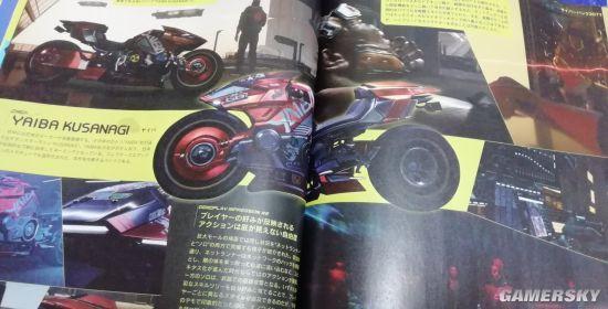 《赛博朋克2077》新图超拉风红色摩托亮相 造型狂野
