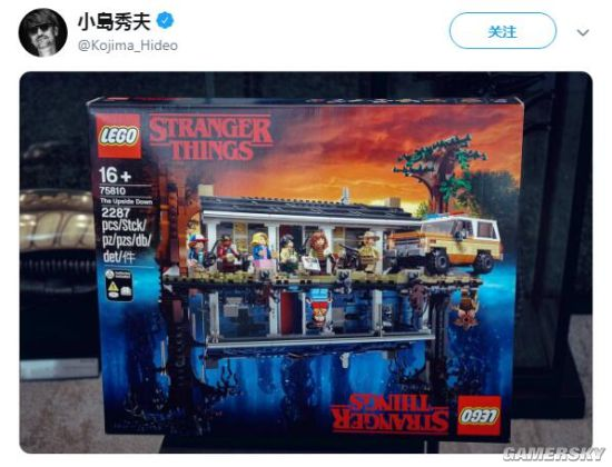 小岛秀夫盛赞《怪奇物语3》 与编剧团队推特互动