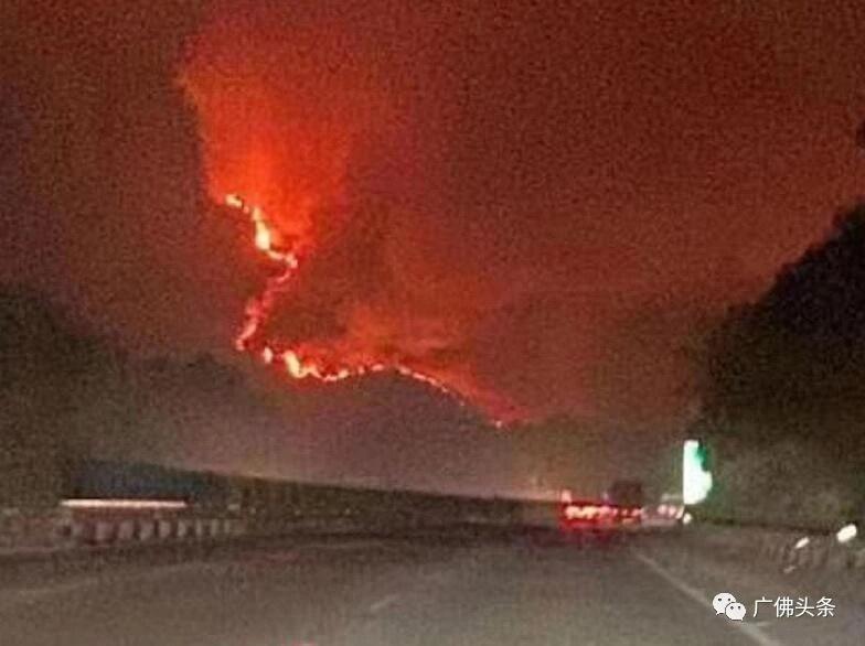 广东佛山山火发生是什么原因?广东佛山山火现场最新情况