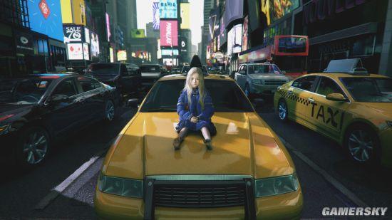 卡普空新作《Pragmata》新截图 可爱萝莉坐于街头