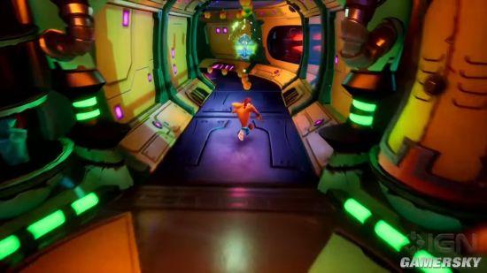 《古惑狼4》新实机演示 海盗关卡、新旧游戏玩法