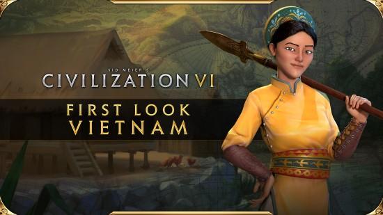 《文明6》越南领袖赵夫人宣传片 战场金袍女将
