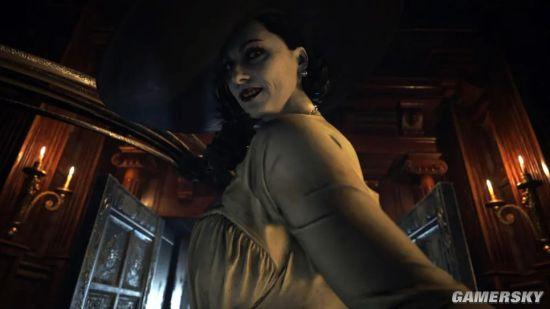 外媒估算《生化8》吸血鬼贵妇身高2.4米 比姚明还高