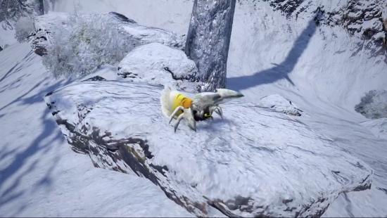 《怪物猎人:崛起》新环境生物演示 强力陷阱蜘蛛