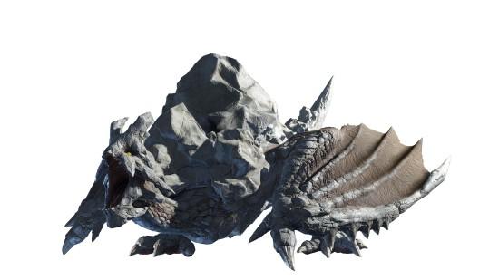 《怪物猎人:崛起》岩龙演示短片 冲撞拥有极高破坏力