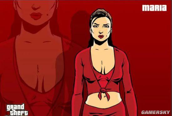 《GTA3》御姐玛利亚3D高清建模 酷似真人火辣无比