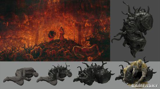 《生化危机8》官方美术设定汇总 包含大量初设与废设