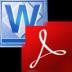 Word(DocX)转换成PDF转换器 (FoxPDF DocX to PDF Converter)