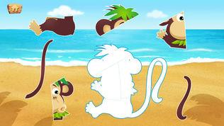 乐乐的神秘岛拼图软件截图1