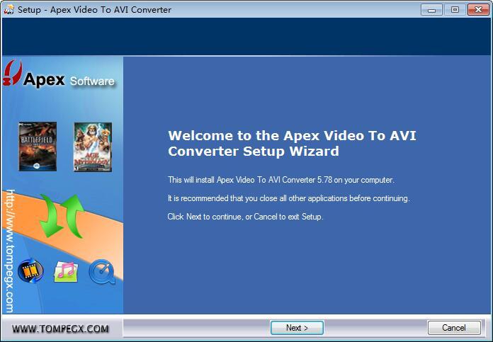 Apex Video to AVI Converter下载