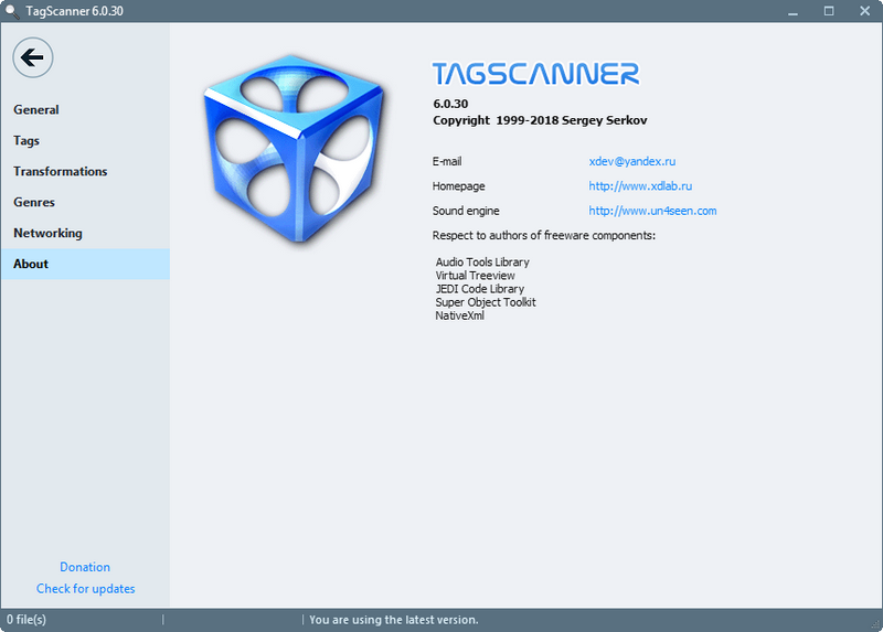 TagScanner(MP3标签编辑器)下载