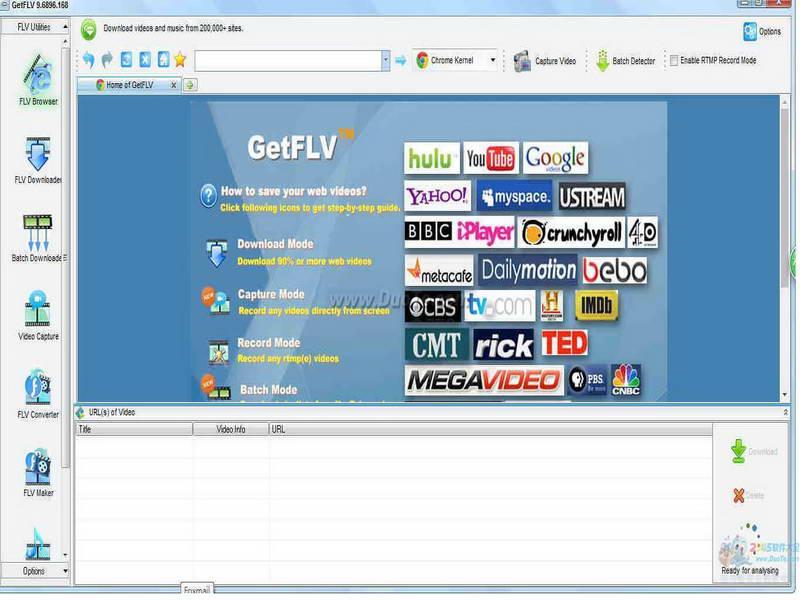 GetFLV(視頻管理)下載