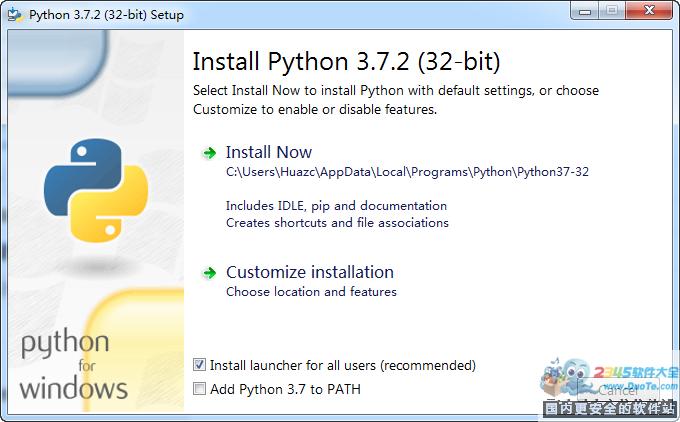 Python for Windows下载