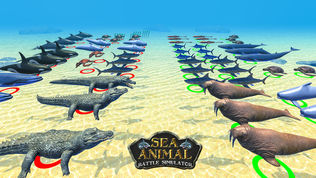 海洋动物模拟战斗机软件截图2
