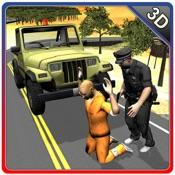 4×4越野吉普车警察