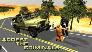 4×4越野吉普车警察软件截图0