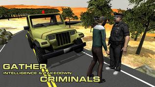 4×4越野吉普车警察软件截图2
