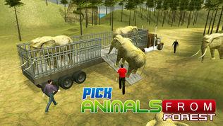 动物园动物运输卡车软件截图0