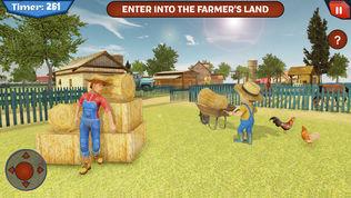 可怕的农民在恐怖屋