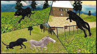 野生黑豹袭击模拟器3D软件截图0