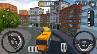 智能巴士驾驶学校考试
