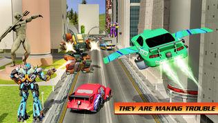 飞行 汽车 战争 英雄 机器人软件截图2