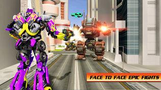飞行 汽车 战争 英雄 机器人软件截图1
