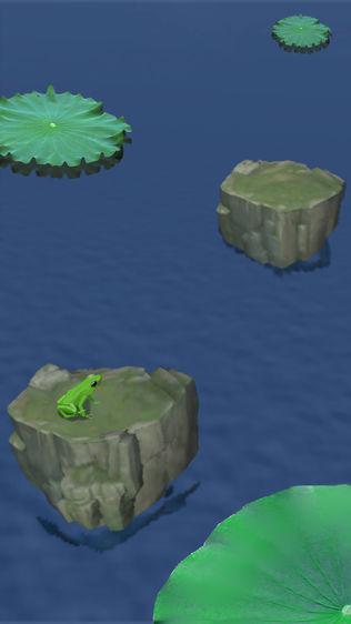 青蛙跳一跳旅行小游戏中文汉化版软件截图2