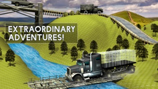 越野大号卡车模拟器3D驾驶学校软件截图2
