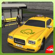 电动汽车出租车司机3D模拟器