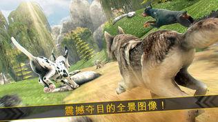 神奇狼人和狗狗冲突