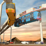 高空列车模拟器 3D