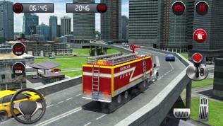 救援消防卡车模拟器游戏软件截图1