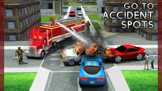 救援消防卡车模拟器游戏软件截图2