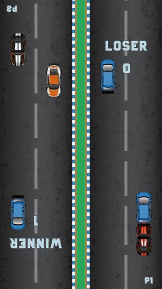 双人赛车小游戏软件截图2