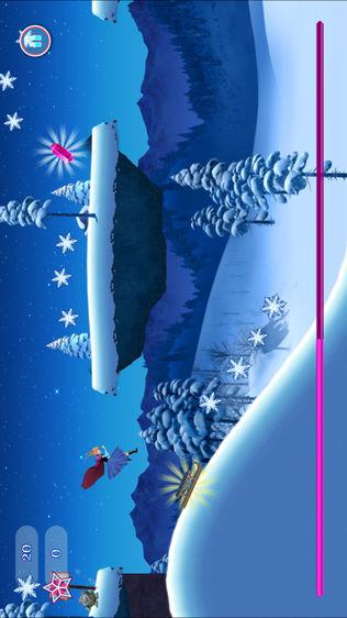 冰雪世界主题公主奇缘跑酷软件截图0