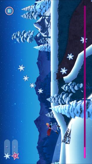 冰雪世界主题公主奇缘跑酷软件截图1