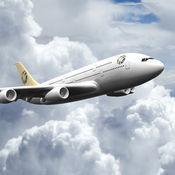 模拟飞机飞越全球