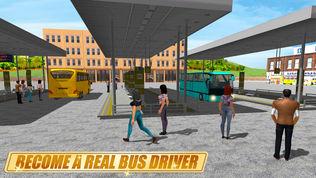 真实公交车模拟3D