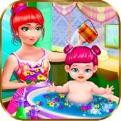 新生婴儿洗澡照顾