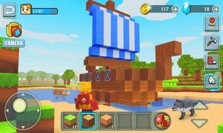 像素小人大冒险游戏软件截图0