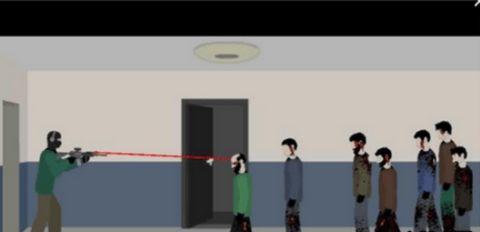 走廊射杀僵尸中文版软件截图2