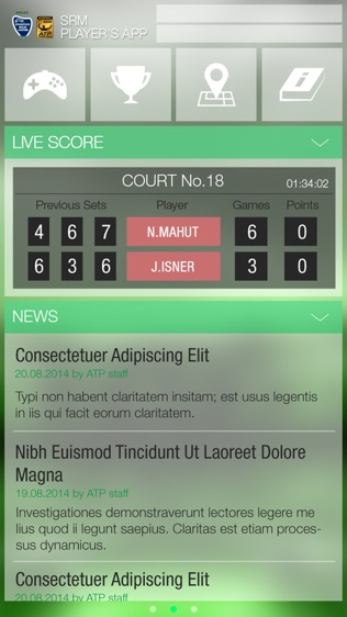 SRM Players App软件截图0