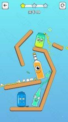 开瓶大作战(Bottle Pop)软件截图1