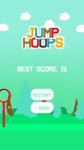 铁环跳跃(Jump Hoops)