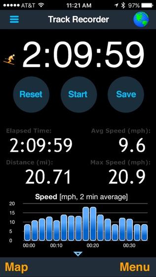 MotionX GPS软件截图0