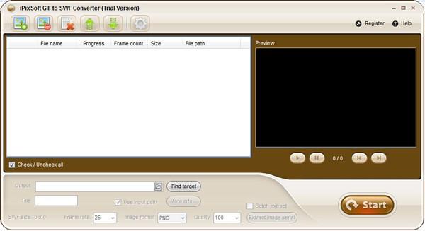 iPixSoft GIF to SWF Converter(GIFl转SWF工具)下载